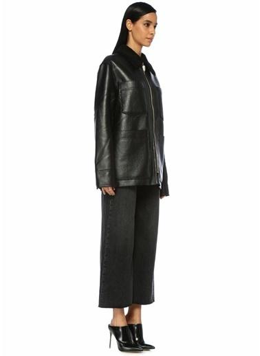 Nanushka Ceket Siyah
